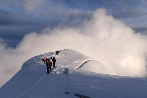 Randonnee Mont Blanc Voie Normale Du Gouter Rando Marche